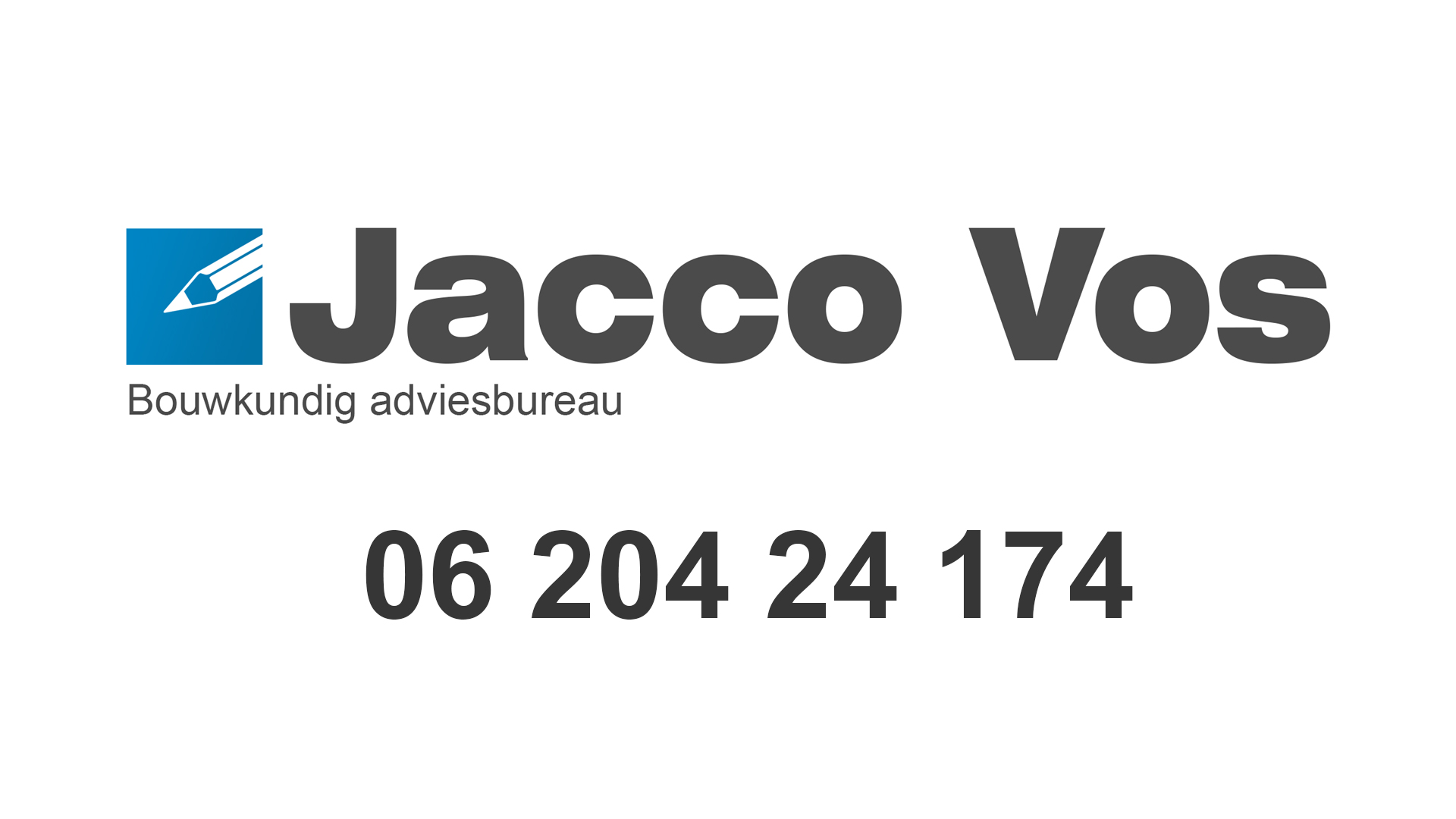 logo Jacco Vos Bouw